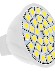 5W GU5.3(MR16) LED Spotlight MR16 30 SMD 5050 420 lm Natural White DC 12 V