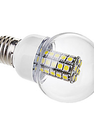 6W E26/E27 Lampadine globo LED G60 47 SMD 5050 530 lm Bianco AC 220-240 V