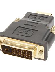 dvi24 +1 à hdmi m / m pour adaptateur hdmi v1.3/v1.4