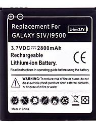 Handy-Akku für Samsung S4/i9500, i9508 (3.7V, 2800mAh)