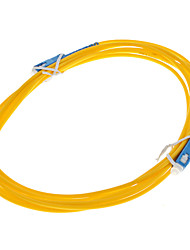 Fiber Optic Cable, SC/SC-UPC, Single Mode - 3 meter