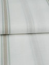 neoklassischen zwei Platten Streifen weißen Schlafzimmer Poly Baumwollmischung Gardinen Schattierungen