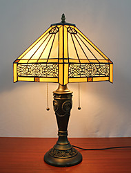 Table Lamps , Tiffany Resin