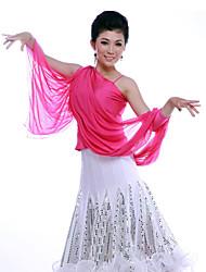 Dancewear Fashion Viscose Latin Dance Top For Ladies