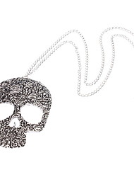 The Silver Skull Necklace