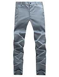 Skinny Pants Uomo Slim Casual
