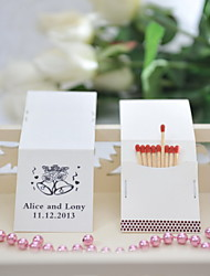 Wedding Décor Personalized Matchbooks - Bells (Set of 25)