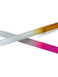 2PCS Crystal Glass Nail File (Random Color)
