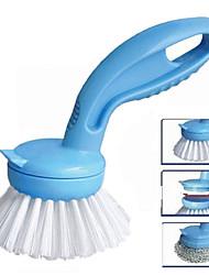 2-en-1 remplaçable brosse de nettoyage (couleur aléatoire)