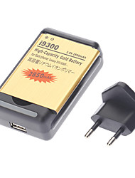 USB Battery Charging Cradle, 3.7V 2850mAh Akku und EU-Adapter für Samsung Galaxy S3 / i9300