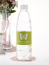 Personalized Water Bottle Sticker - Butterfly (Set of 15)
