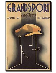 Vintage Grandsport Плакат Vintage Apple, для печати Art Collection