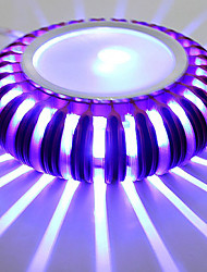 LED/Mini Style/Bulb Included Wall Washers , Modern/Contemporary LED Integrated Metal