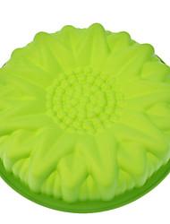 """10.5 """"tournesol gâteau en forme de moule en silicone"""