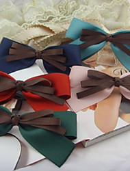 Handmade Satin Ribbon Bow Sweet Lolita Barrette