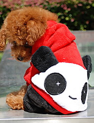 Dog Hoodie / Clothes/Clothing Red Winter Animal