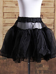 Kurz Satin Klassische Lolita Rock / Petticoat