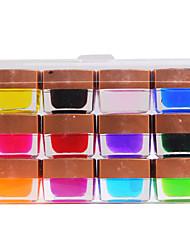 12 Colored Glaze UV Builder Gel Nail Art 8ml