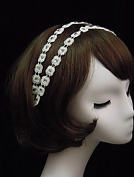 Women's Lace/Rhinestone Headpiece - Special Occasion Headbands