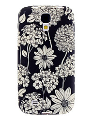 Exquisite Flower Soft Case Pattern pour Samsung Galaxy i9500 S4