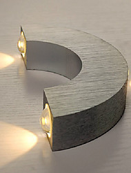 LED/Mini Style/Bulb Included Wall Sconces , Modern/Contemporary LED Integrated Metal