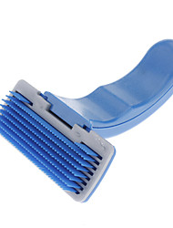 Novel Design Auto-cleaning Plastic Pet Brush for Dogs (S-L)