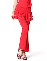 Dancewear Viscose Latin Dance Bottom For Ladies More Colors