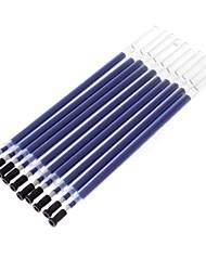 10 Pack Black Ink Gel Pen Refill (Assorted Colors)