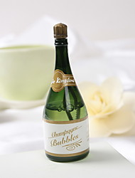 Wedding Décor Champagne  Bubble Bottle - Set of 24 (Solution Not Included)