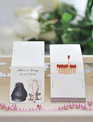 Картон Свадебные украшения-50Шт./набор Персонализированный Спички в комплект не входят.