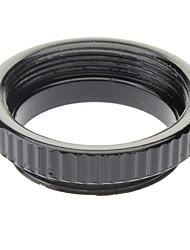 C Anillo de montaje de Micro para vídeo CCTV Lens (Negro)