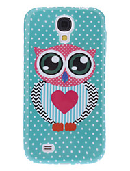 Lovely Owl Design Soft Case for Samsung Galaxy S4 I9500