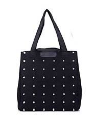 Fashion Canvase With Rhinestones Casual/Shopping Top Handle Bag