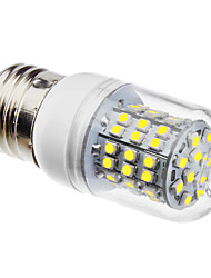 E27 3.5W 3528SMD 320LM 6500K Natural White Light LED Corn Bulb (110/220V)