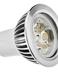 GU10 3W 210-250LM 5800-6500K Природный белый свет светодиодных шарика пятна (110-240В)