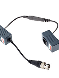Video / Audio / Power Balun mit dc weiblichen und dc male500m 10cm