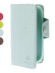 PU Ledertasche mit Kartensteckplatz für Mini-i8190 Samsung-Galaxie s3