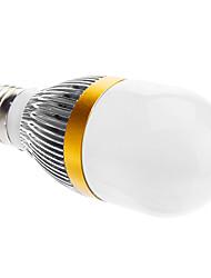 E27 3W 210-240LM 3000-3500K Blanc Chaud Ampoule LED Ball (220)