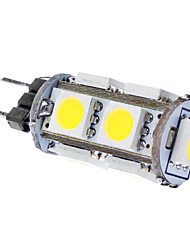 1.5W G4 LED Corn Lights T 9 SMD 5050 120 lm Natural White DC 12 V