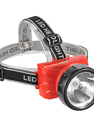 LED-722A Akku 2-Mode LED-Scheinwerfer (Built-in Batterie, Red)
