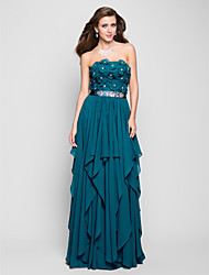 Prom / Formal Evening / Military Ball Dress - FloralApple / Hourglass / Inverted Triangle / Pear / Rectangle / Plus Size / Petite /