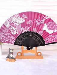 Ююко Фиолетовый Wa Лолита японский веер
