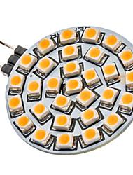 G4 2W 30x3528SMD 120-150LM 3000-3500K lumière blanche chaude Ampoule LED Spot (12V)