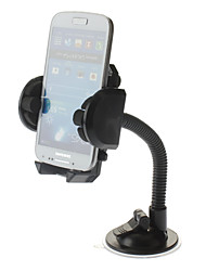 Universal In Car Adjustable Mount Holder for iPhone, Samsung Cellphones and Others iPhone 8 7 Samsung Galaxy S8 S7