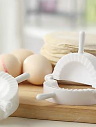 Versátil plástico chinês Bolinhos Mould Modelo Meat Pie marcador Maker para casa Família