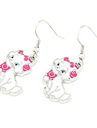 Drop Earrings Acrylic Alloy Fashion Jewelry Party Daily