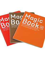 Magic Book Notebook(Random Colors)