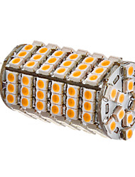 G4 6W 102x3528SMD 420-450LM 3000-3500K Warm White Light LED Corn Bulb (12V)