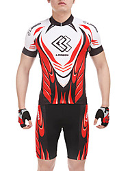 Bike/Cycling Shorts / Jersey + Shorts / Clothing Sets/Suits Men's Short Sleeve Quick Dry / Wearable Spandex / PolyamideM / L / XL / XXL /
