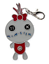 Cat / Dog Tag Bowknot / Cartoon Design White Metal